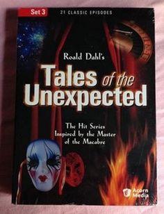 Tales of the Unexpected - Set 3 (DVD, 2005) Acorn Media Roald Dahl OOP