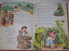 I loved the prints in the Childcraft books.