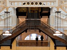 Chicago Rookery - Angie McMonigal Photography by Angie McMonigal, via Flickr