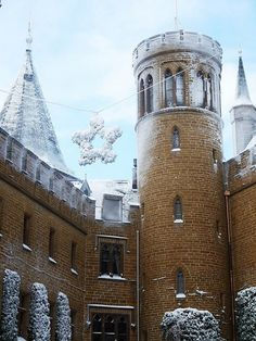 Christmas in Burg-Hohenzollern Castle, Germany