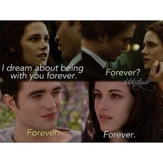Twilight & Breaking Dawn Part 1 n 2<3 This movie was really good!! I Almost cried!!