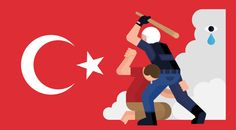 #occupygezi by Mother Volcano , via Behance