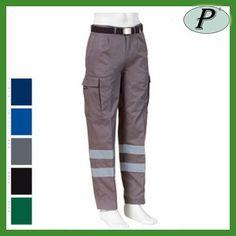 Pantalon gris con bandas reflectantes de alta visibilidad. Pantalón multibolsillos de varios colores disponibles. Dos bandas reflectantes en cada pierna. Ver detalles en: http://www.tplanas.com/epis/prendas-reflectantes/712-pantalon-gris-bandas-reflectantes-multibolsillos.html