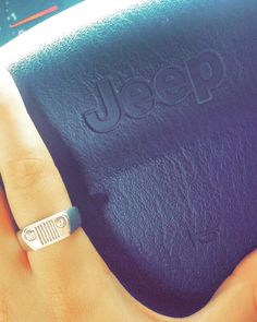 *** Crazy big deals on amazing jewelry at http://jewelrydealsnow.com/?a=jewelry_deals *** Jeep ring. White gold ring with diamonds. For sale.