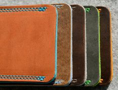 Fairphone Organic Leather Sleeve / Cover MULTIPLE by filzstueck