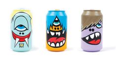 Mad Cans by Greg Mike.   Packaging fun IMPDO.