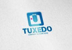 Tuxedo Logo by Creative Dezing on @creativemarket