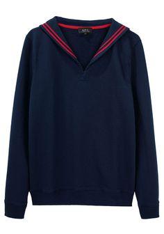 sailor sweatshirt by apc