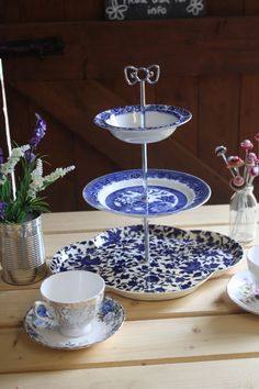 Handmade Cake Stands by Stables Home and Garden