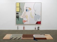Chisenhale Gallery, London (Image: Helen Marten, Plank Salad, 2012. Chisenhale Gallery, London. Photo: Andy Keate)