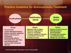 Practice Guidelines for Schizophrenia Treatment