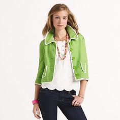 Kate Spade jacket for Spring!