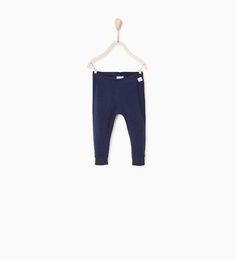 ZARA - KIDS - Organic cotton ribbed leggings