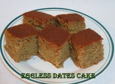 Simply Delicious: Eggless Dates Cake