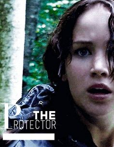 Hunger Games / Katniss FEELS!-Connected to the innocent Rue Picture-Look at Katniss face D:
