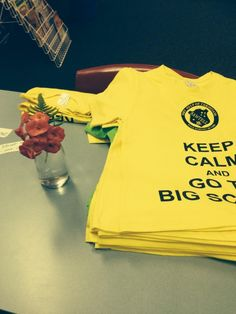 Keep calm and go to big school! T-shirts for Kindergarten by Mary Help of Christians Sawtell