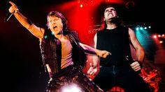 Veja Bruce Dickinson e Blaze Bayley discutindo com fãs do Iron Maiden durante os shows da Donzela – FUTEROCK