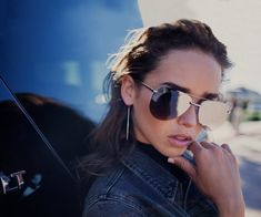 4d34cb0f50 THE PLAYA - Just bought these from Nordstrom. ❤ Mirrored Aviator  Sunglasses