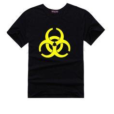 The Big Bang Theory Sheldon Cooper T-Shirt Biohazard | Thesitcompost.com