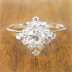Anastasia Vintage Engagement Ring circa 1950