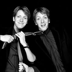 Fred and George. Great characters in harry potter