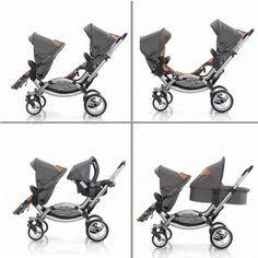 Double stroller. Wish I could've seen this when pregnant with my twins!! Looks very practical!!