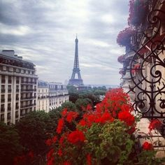 Paris view of Eiffel Tower Beautiful Paris, I Love Paris, Beautiful World, Paris Paris, Beautiful Sites, Dream Vacations, Vacation Spots, Vacation Places, Places To Travel