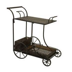 Woven Wine Cart