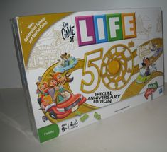 The Game of Life 50th Special Anniversary Edition Board Game. It's SOLD but visit the link to find a shop full of new, used and vintage board games.  #life #games
