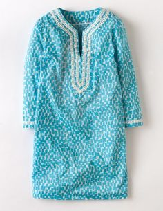 I've spotted this @BodenClothing Printed Beach Throw On Light Blue Stamp Geo