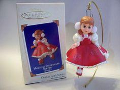 Holiday Snowflake Skater, Madame Alexander Series #8.  Hallmark Ornament, 2003.