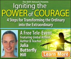 Igniting the power of courage