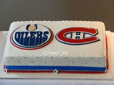 New birthday cake boys hockey montreal canadiens ideas Birthday Surprise For Mom, Birthday Wishes For Mom, Birthday Gifts For Brother, New Birthday Cake, Birthday Ideas, Birthday Parties, Edmonton Oilers, Birthday Cake Girls Teenager, Birthday Cake Illustration
