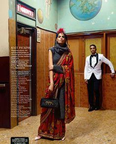 Vogue India October 2015  MAXIMUM BANDRA Photographer: Bharat Sikka Stylist: Anaita Shroff Adajania Hair: Cyril Laloue Make-Up: Rosario Belmonte Model: Bhumika Arora