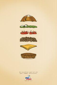 An essential part of all your summer activities. Hamburger buns. Advertising Agency: DLC / Ogilvy & Mather San Juan, Puerto Rico Creative Dire