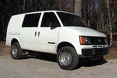 chevy astro van lifted - Google Search