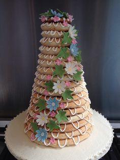 Something hubby & I put together for mum's birthday #glutenfree #dairyfree #kransekake