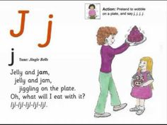JOLLY PHONICS j song from Read Australia - Having FUN with phonics