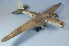 Revell 1-72 He-177 A5/R6 -- II/KG40