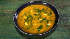 5/5 so good!!  Vegan Sweet Potato & White Bean Soup Recipe | The Chew - ABC.com