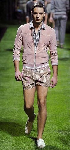 Mens Versace 2011-SERIOUSLY?! Those shorts would be cute for me though :)