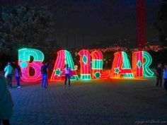 Neon Signs, Guatape, Colombia, 50 Years Old