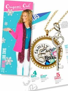 New Fall Origami Owl Take Out Menu 2013