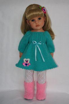 Здравствуйте! Меня зовут Ольга. Очень люблю создавать одежку для куколок. Вяжу крючком, спицами для куколок Gotz, Heart and Soul Dolls,