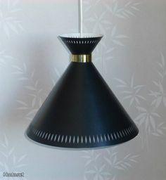 Painted Metal, Vintage Lighting, Metallic Paint, Pendant Lamp, Lamps, Cottage, Brass, Ceiling Lights, Summer