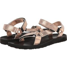 234cd26f1 Teva Original Universal Leather Metallic (Rose Gold) Women s Sandals ( 71)  ❤ liked