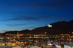 El Paso's Iconic Star on the Mountain