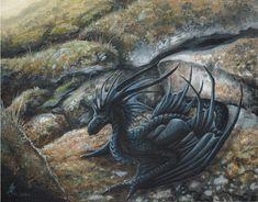 Dragon little black schwarzer wyvern