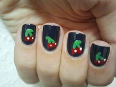 Girls' Night In: Adorable Cherry Nail Art