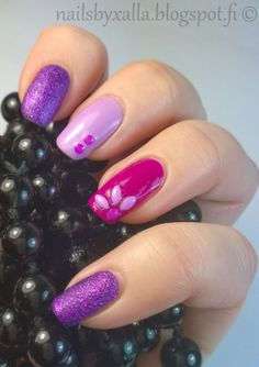 Zoya Carter, Color Club Mrs Robinson, Essie Bond with whomever, neon studs, skittlette